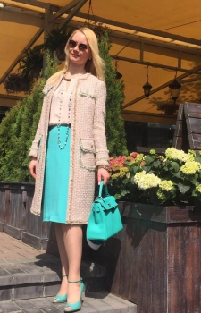 Пальто летнее и юбка